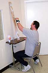 Job Stimulation -- overhead painting